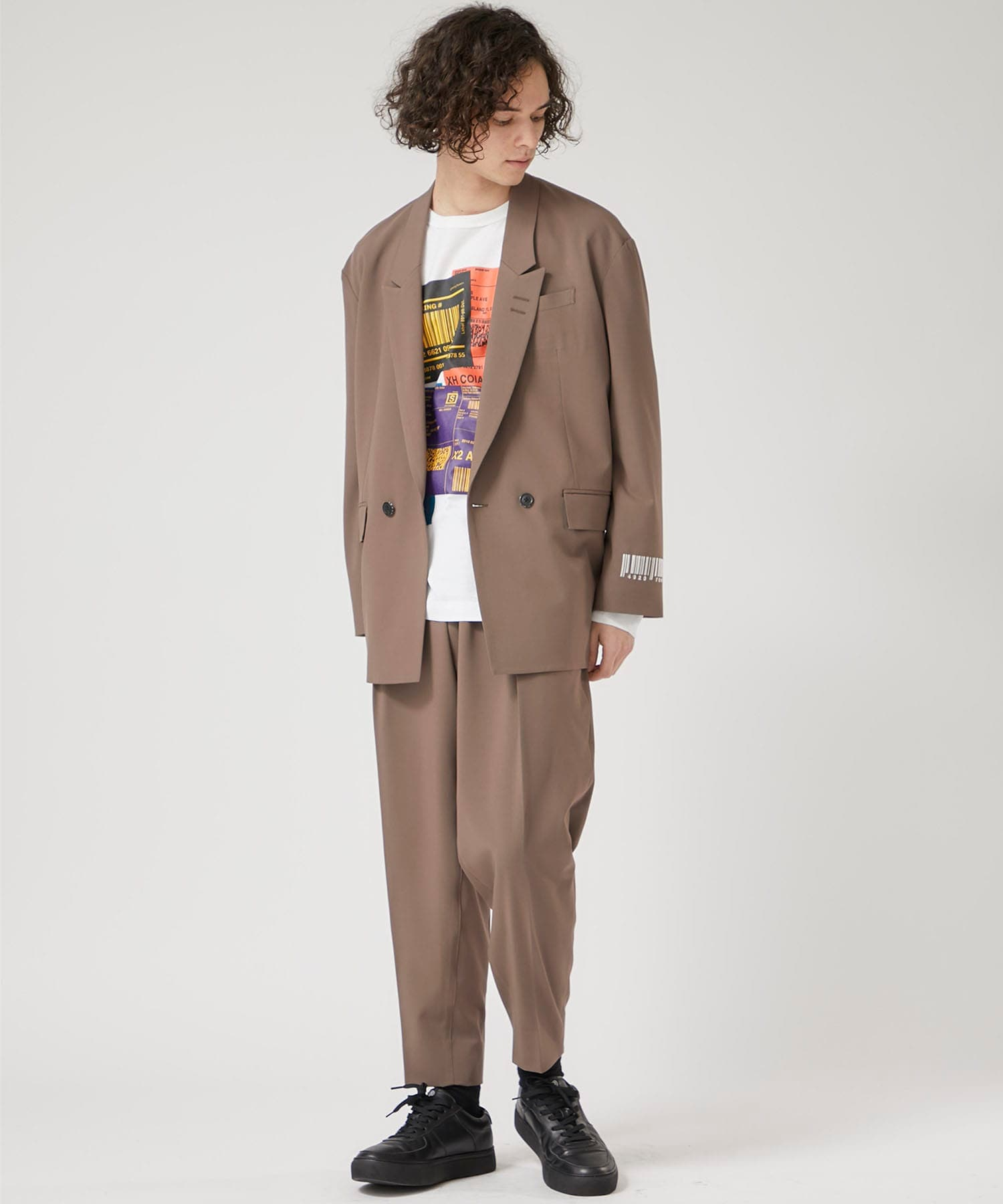 STUDIOUS限定WIDE TAPERED PANTS SHAREEF