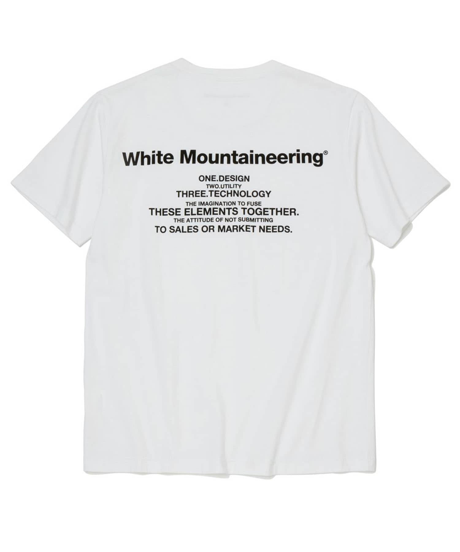 PRINTED T-SHIRT WM White Mountaineering