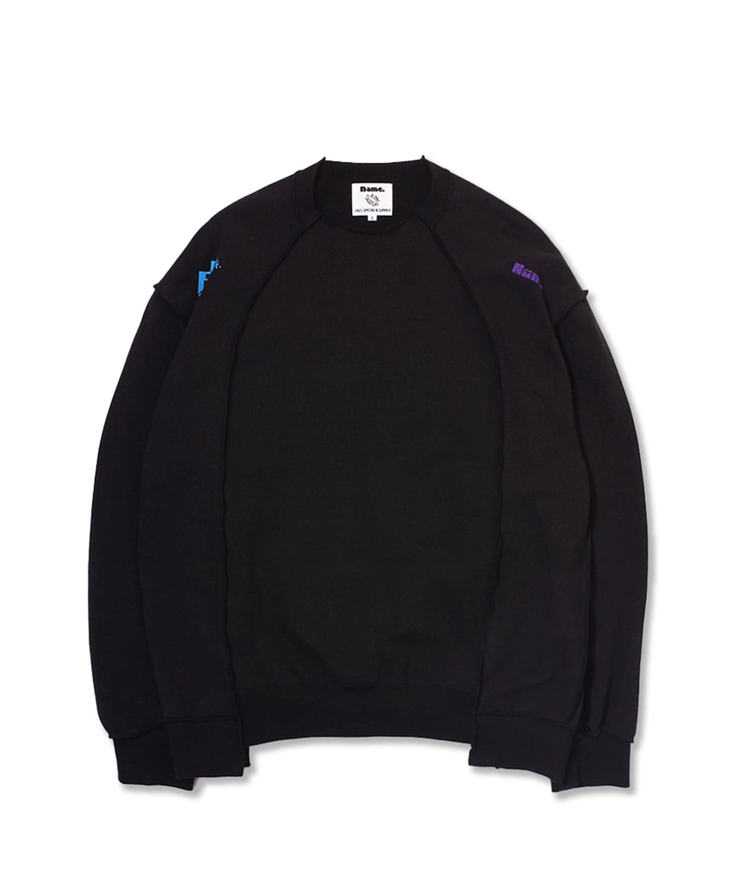 F-LAGSTUFF×Name. CREW NECK SWEATER Name.