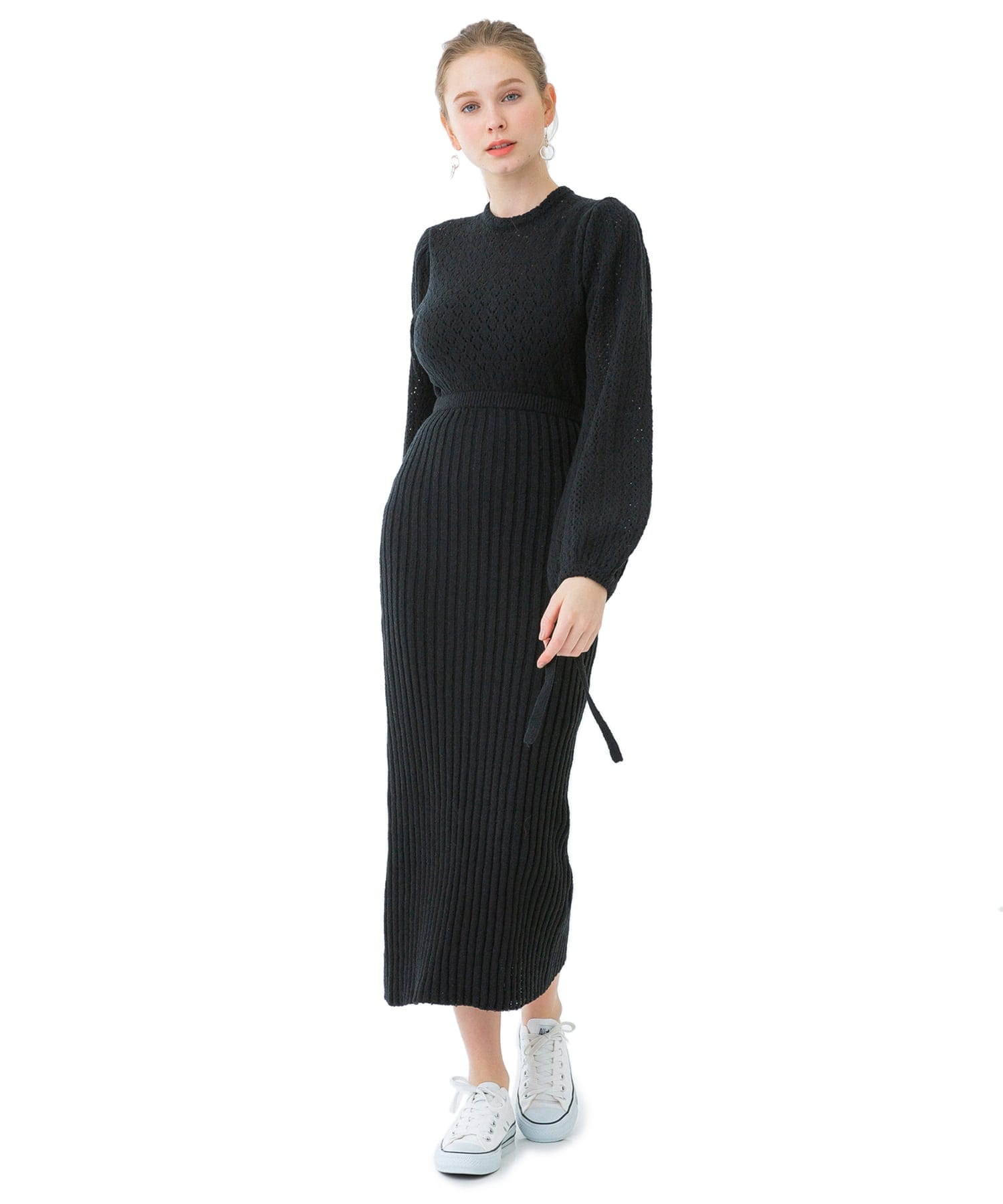 KNIT LONG DRESS HOLIDAY