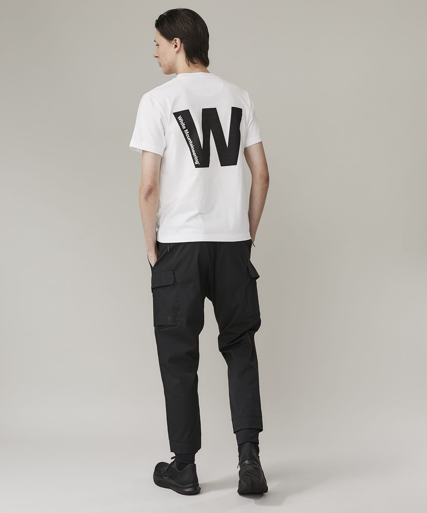 BIG W LOGO PRINTED T-SHIRT White Mountaineering