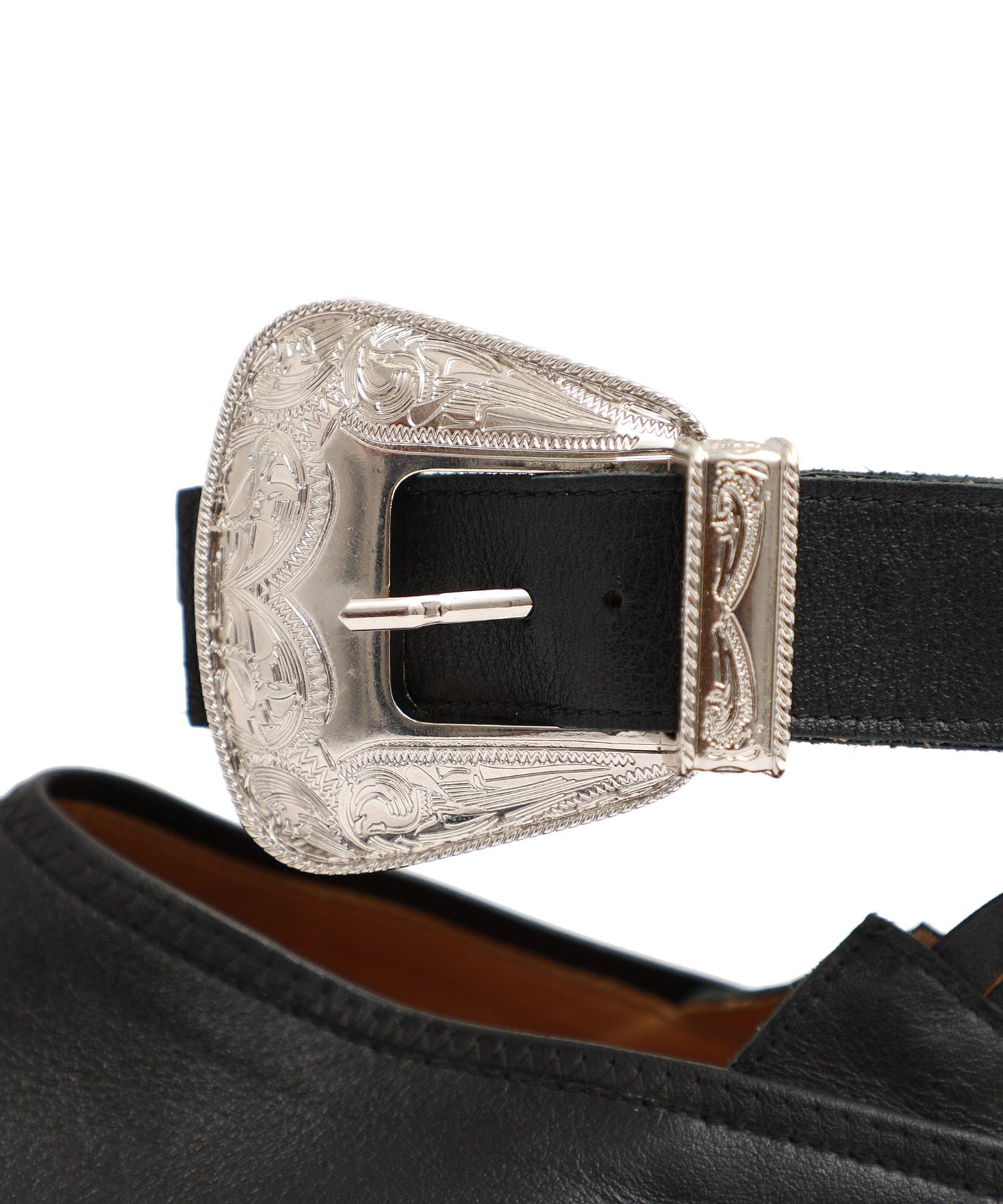 Ankle belt babouche
