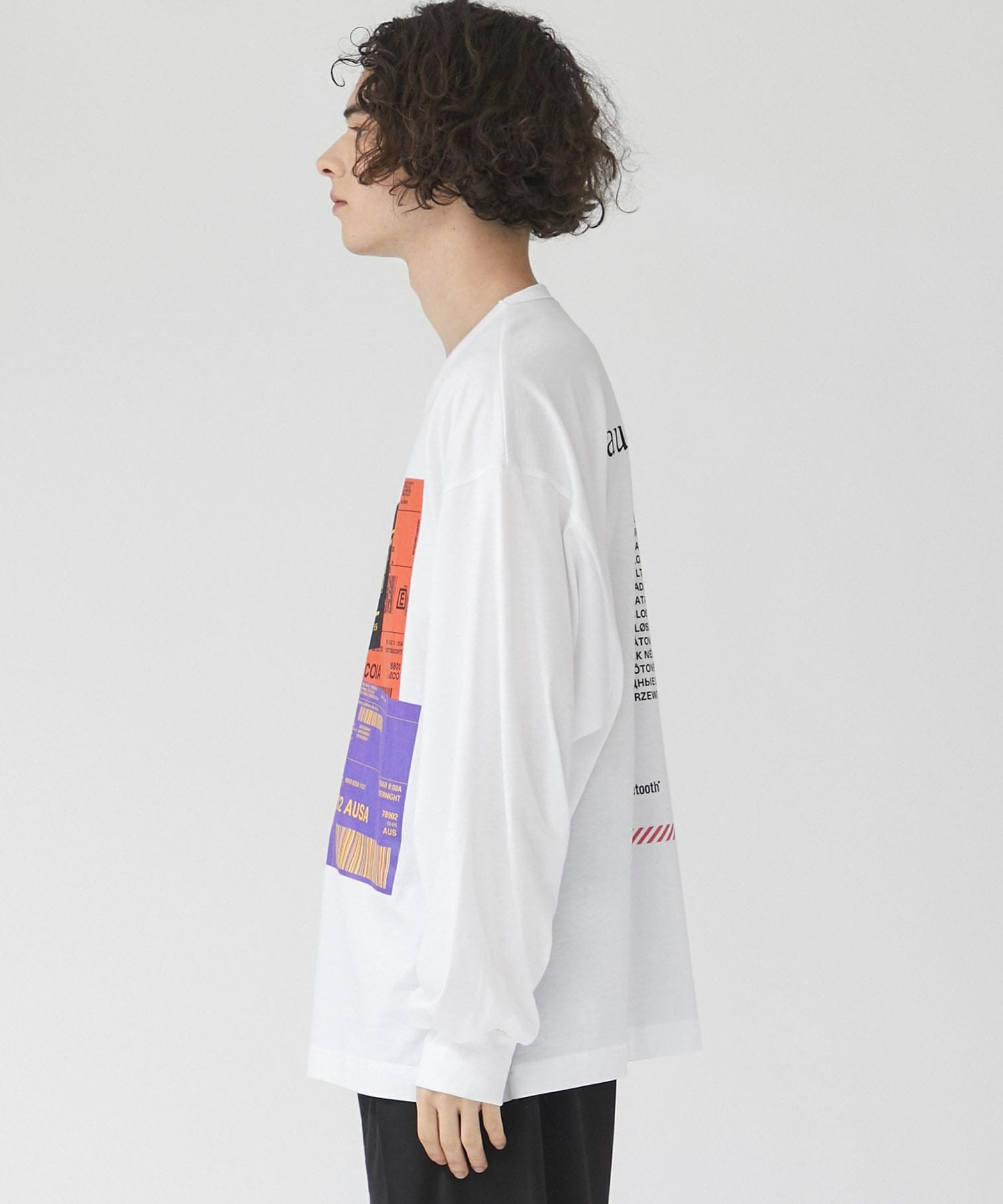 STUDIOUS限定BACK DESIGN LONG TEE SHAREEF