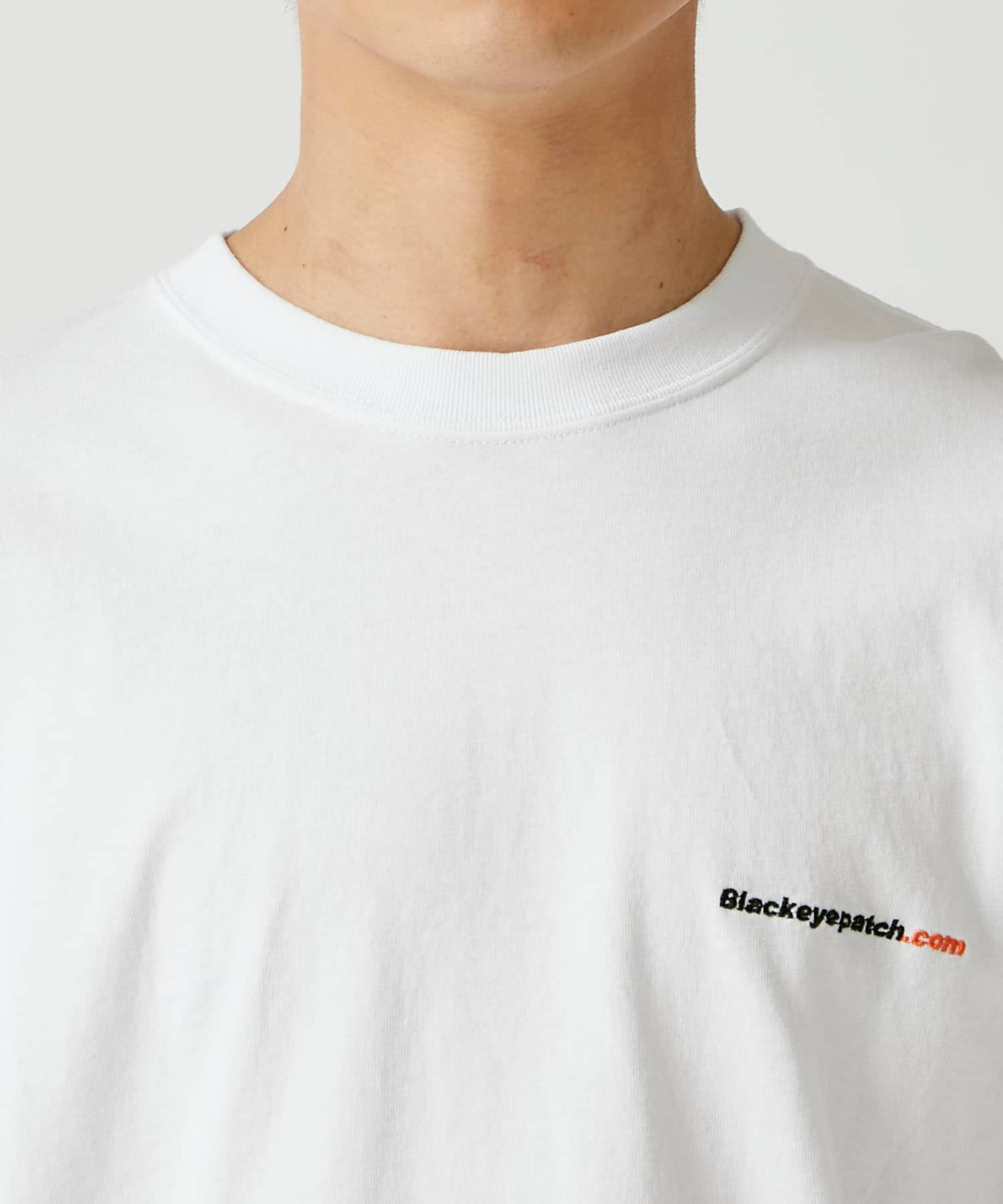 HANDLE WITH CARE L/S TEE BlackEyePatch