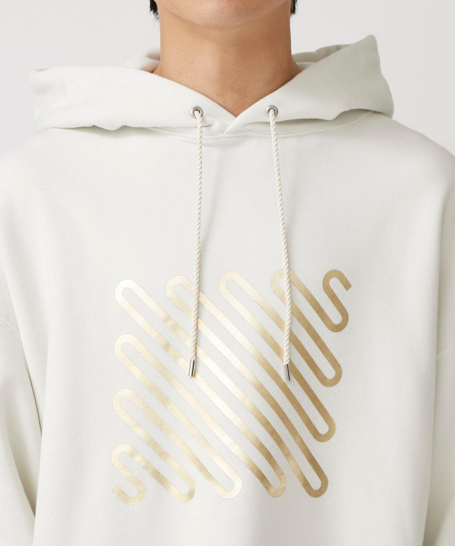 Iconfoil Hoodie GLD NEON SIGN