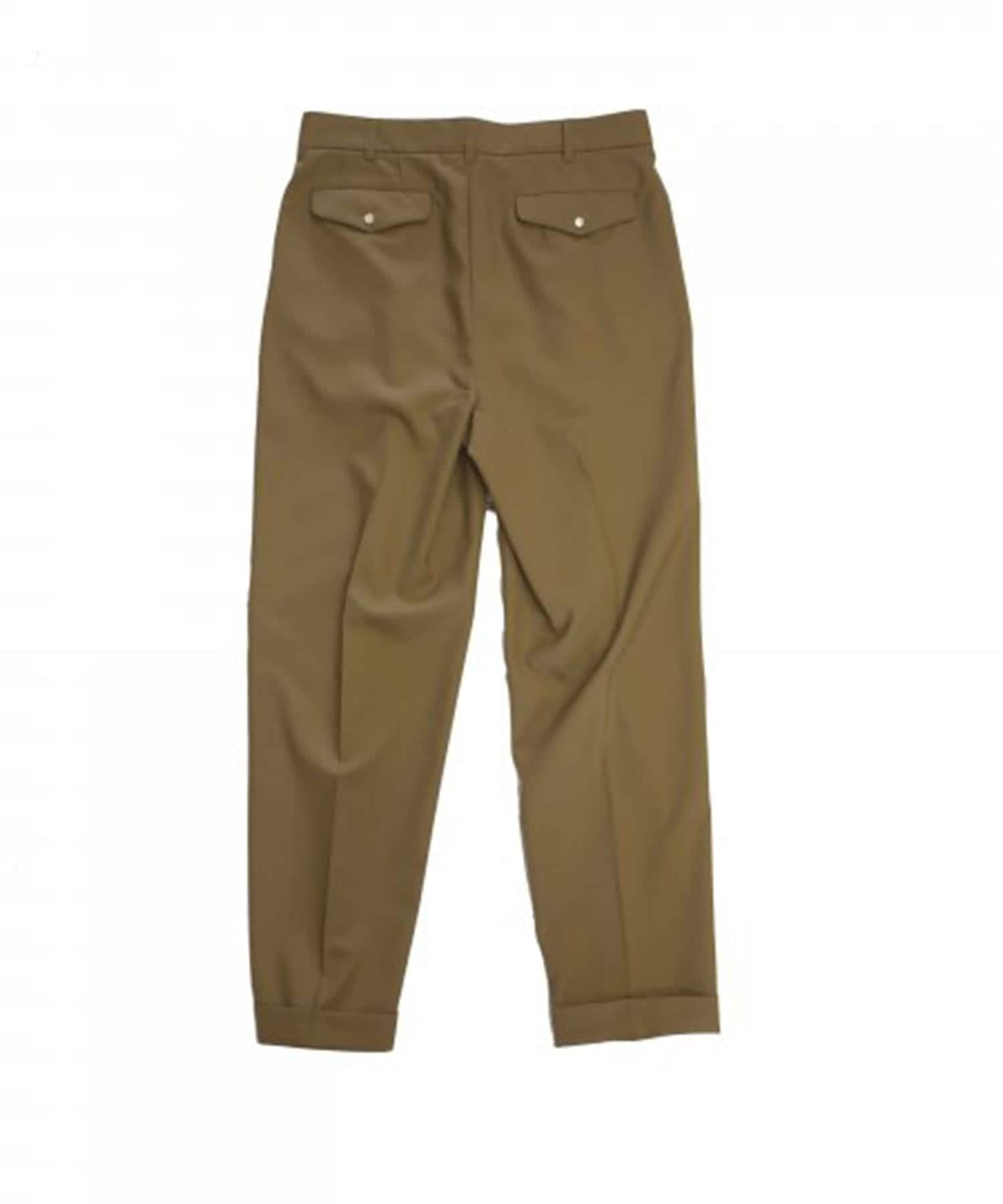 2TUCK TAPERED PANTS JieDa