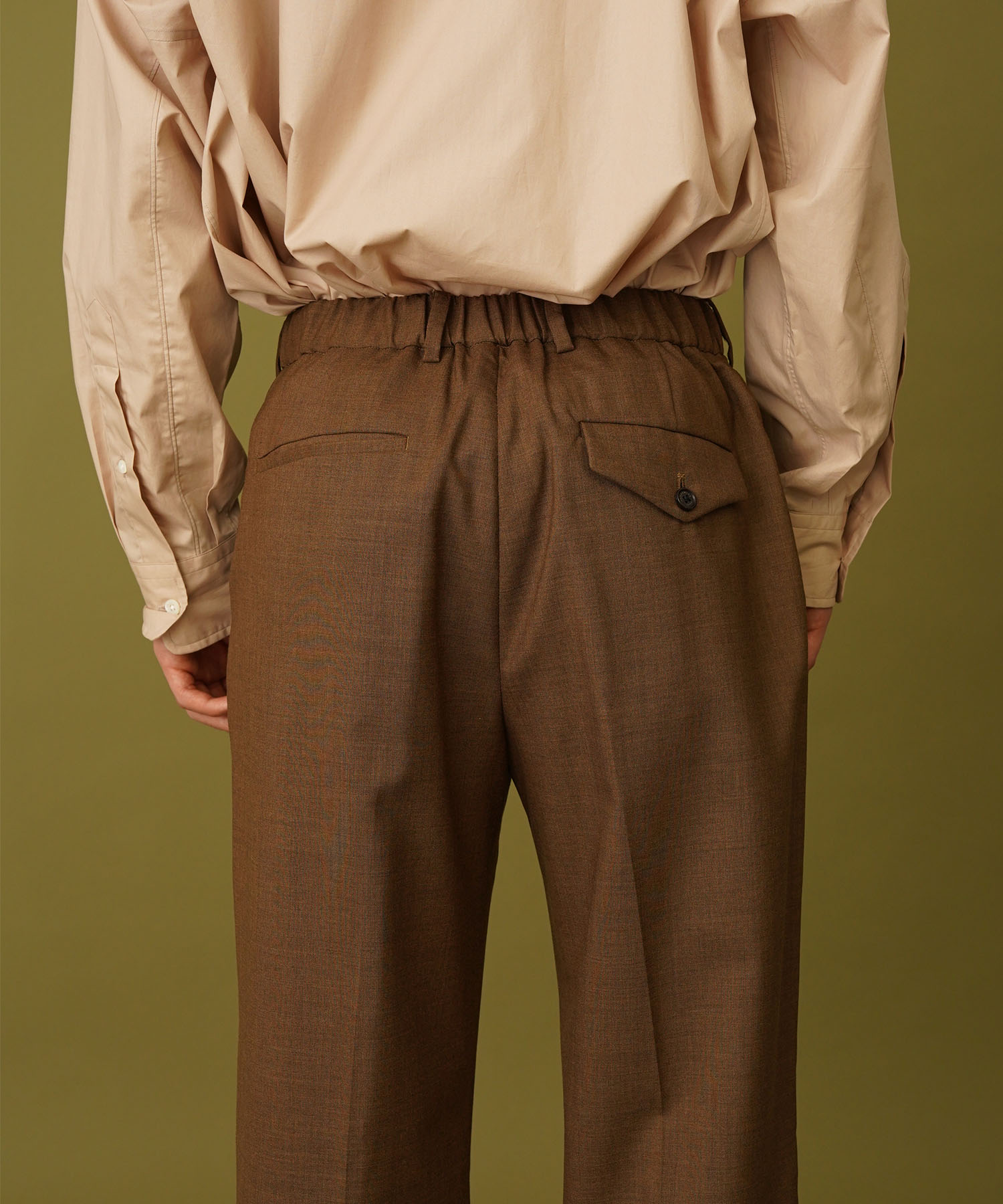 FLAT FRONT TROUSERS MARKAWARE