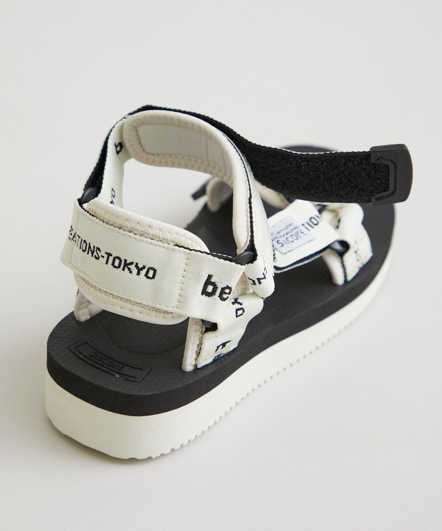 beautiful people×Suicoke ロゴベルトサンダル 1115711980 beautiful people