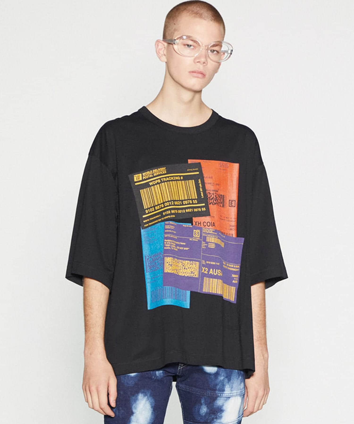 COLOR LABEL S/S BIG-T SHAREEF