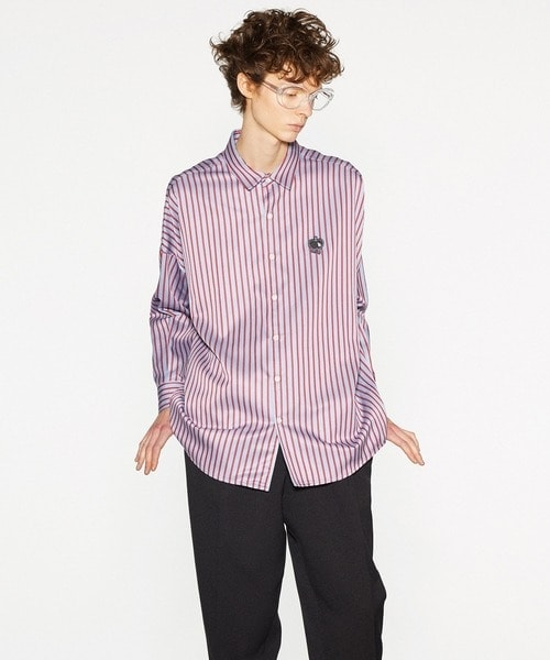 BLOCK STRIPE L/S SHIRTS SHAREEF