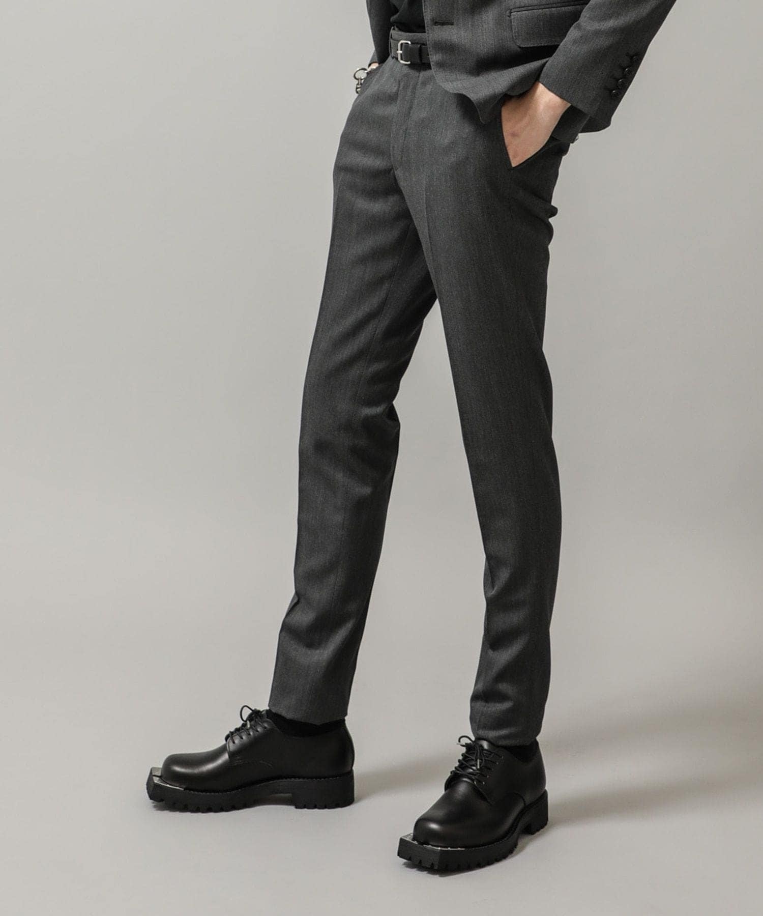 WOOL SKINNY TROUSERS JOHN LAWRENCE SULLIVAN