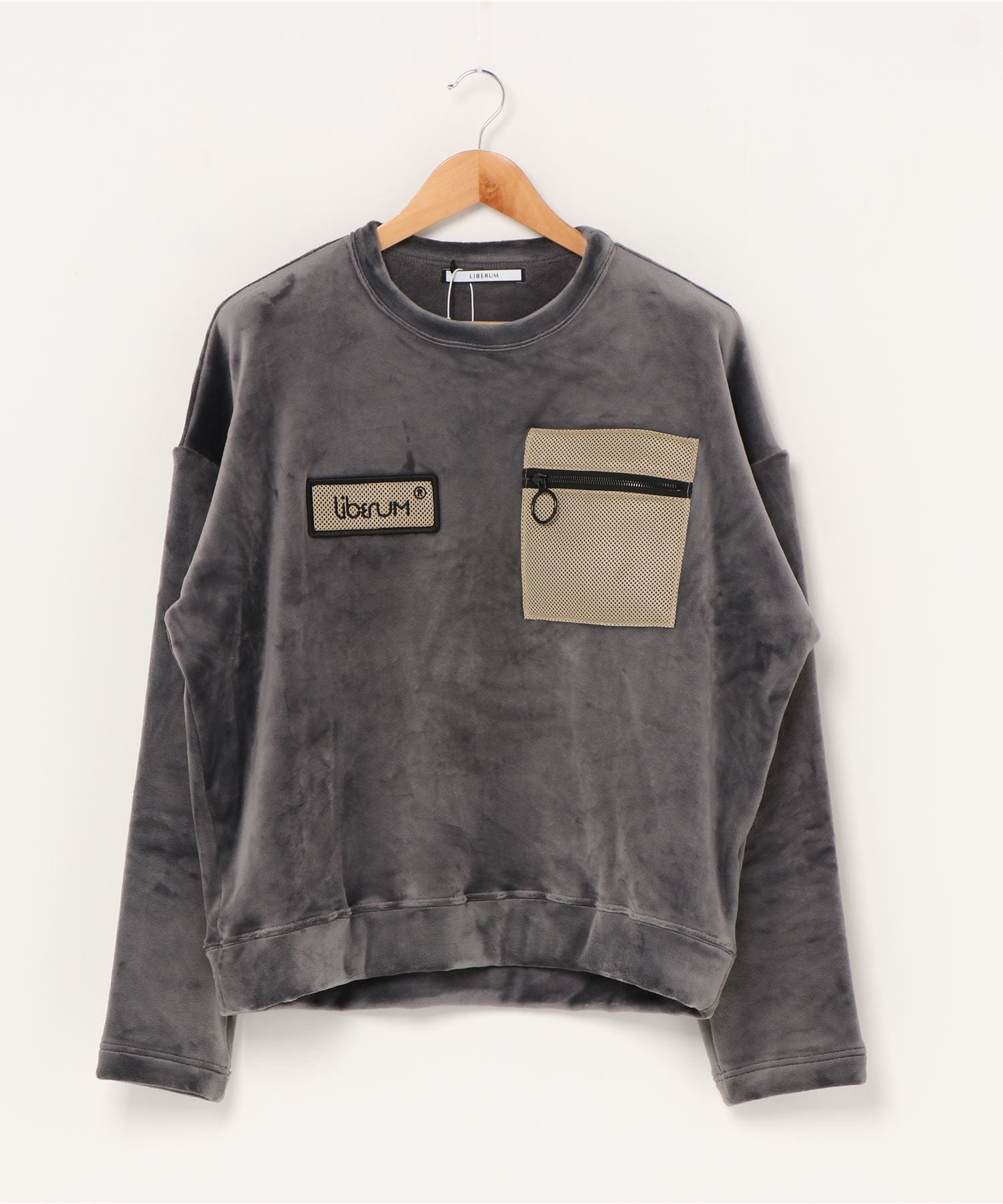 ECO FUR SWEAT LIBERUM