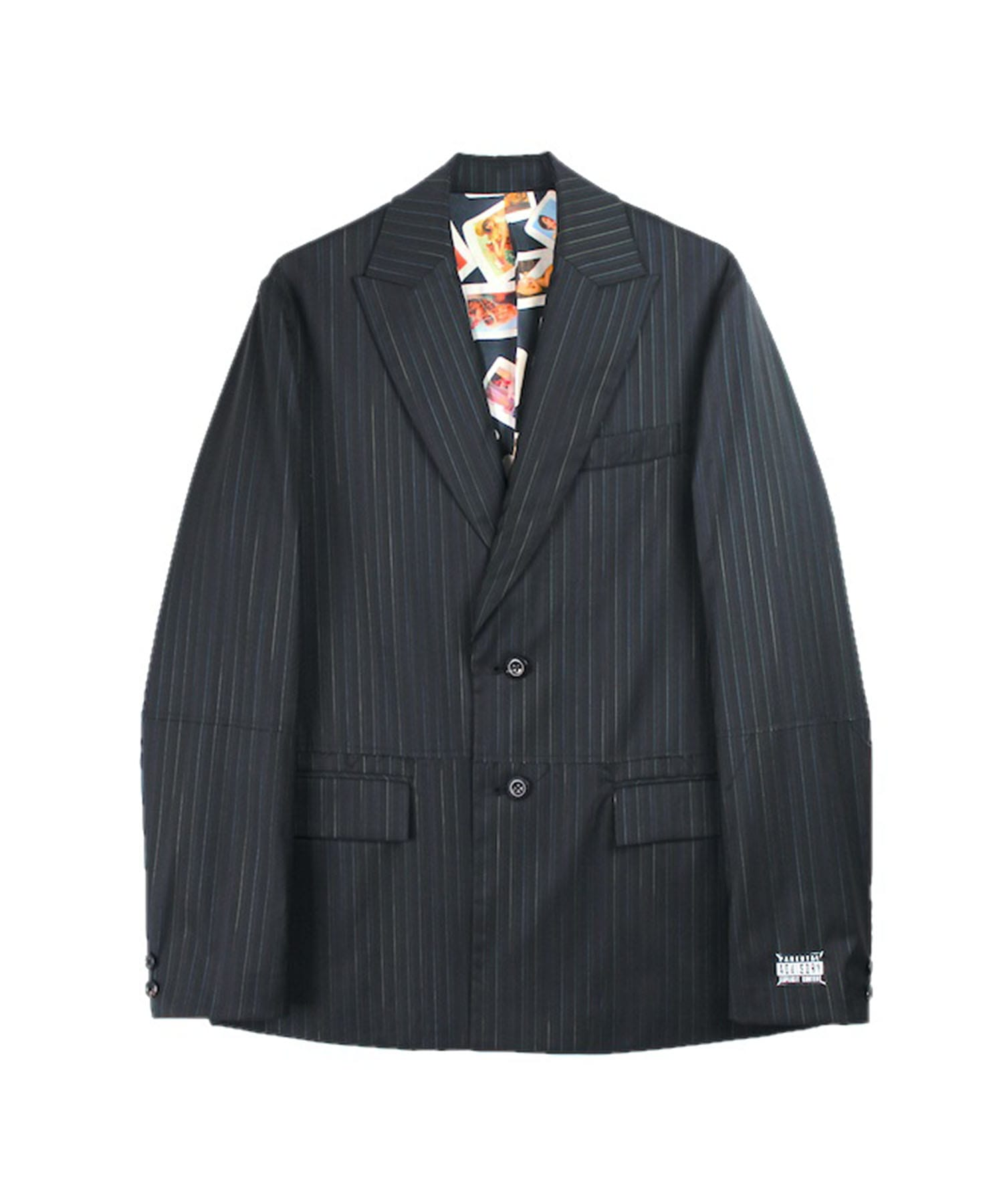 CUT OFF TAILORED JACKET