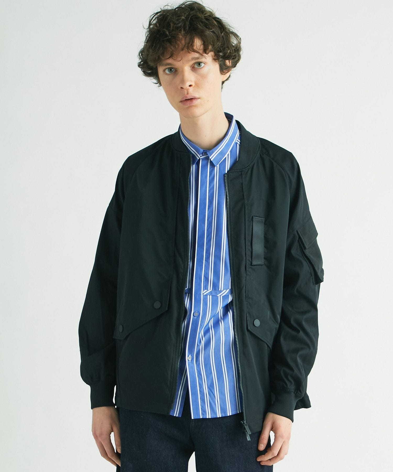 STRETCHED TWILLED JACKET
