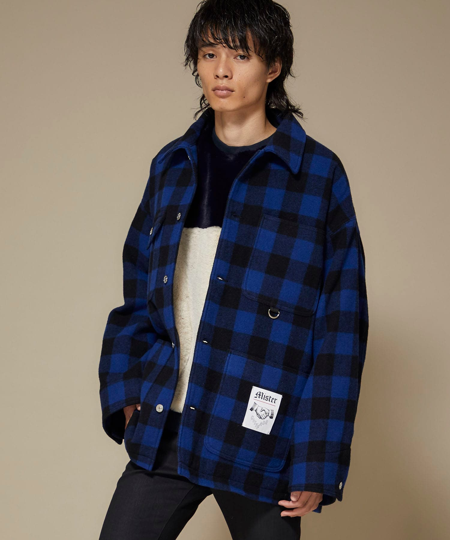 BUFFALO CHECK COVERALL MISTERGENTLEMAN