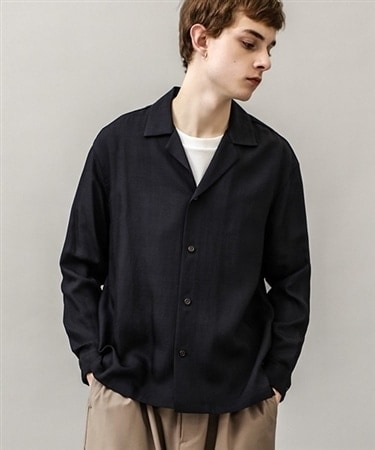 Travis open collar shirts