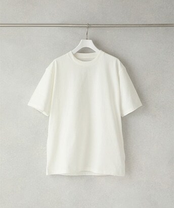 ALBINI COTTON CREW NECK TEE SHIRT
