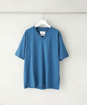 ALBINI COTTON V NECK TEE SHIRT