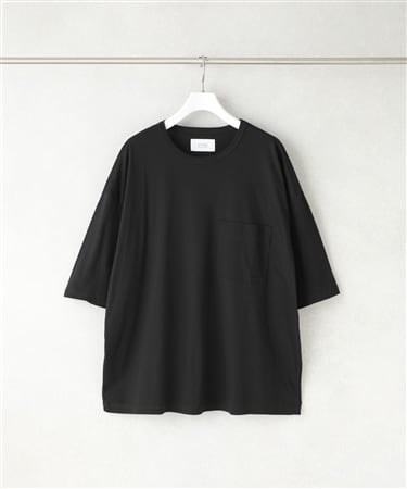 SPLASH CONTROL BIG SILHOUETTE CREW NECK TEE SHIRT