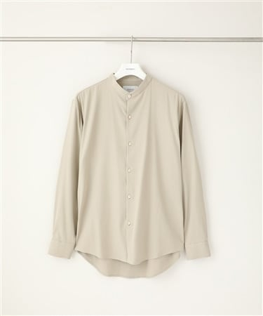 RATINE BAND COLLAR SHIRTS
