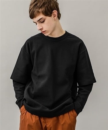 Double sleeve pullover