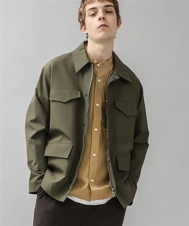 MULTI POCKET UTILITY BLOUSON