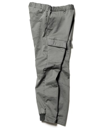FRONT POCKET RIBBED CARGO PANTS
