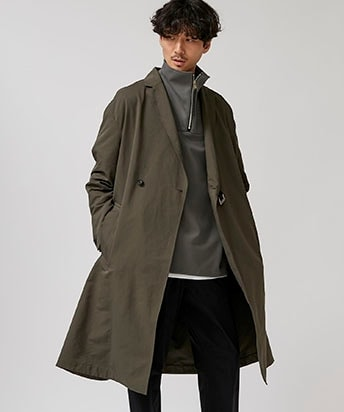 LOOSE CHESTERFIELD COAT