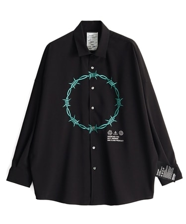 BARBED WIREemb. L/S SHIRTS