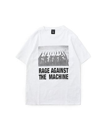 RAGE AGAINST THE MACHINE/CREW NECK T-shirt