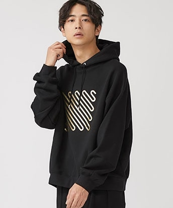 Iconfoil Hoodie GLD