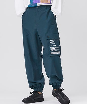 SIDE DESIGN TECH CARGO PANTS