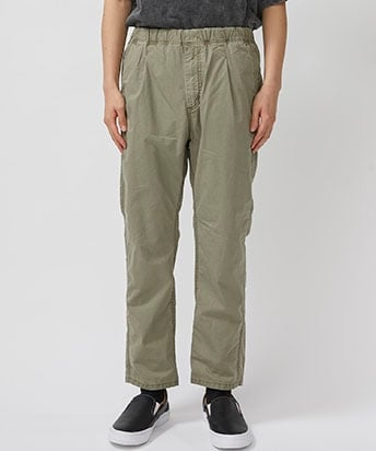 DWELLER EASY PANTS RELAX FIT COTTON TWILL