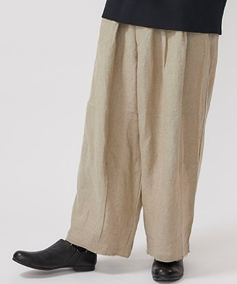 Heavy Line Super Wide Pants