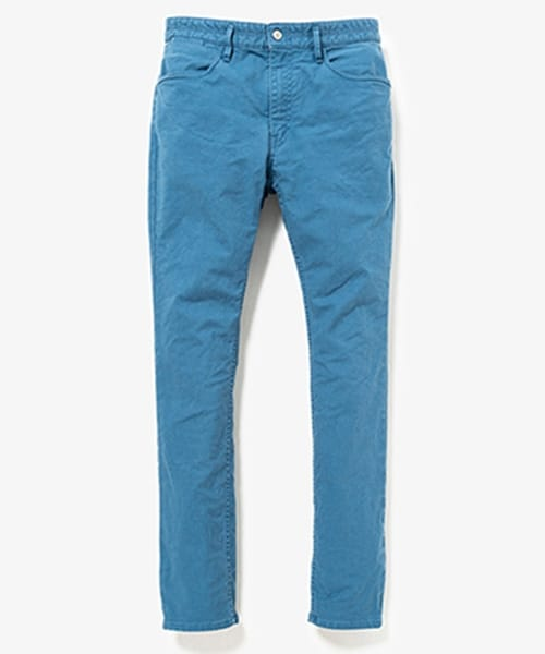DWELLER 5P JEANS DROPPED FIT C/P SERGE STRETCH