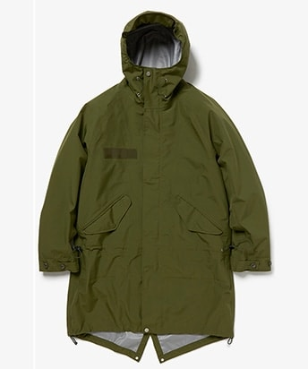 TROOPER HOODED COAT POLY TAFEFETA WITH GORE-TEX