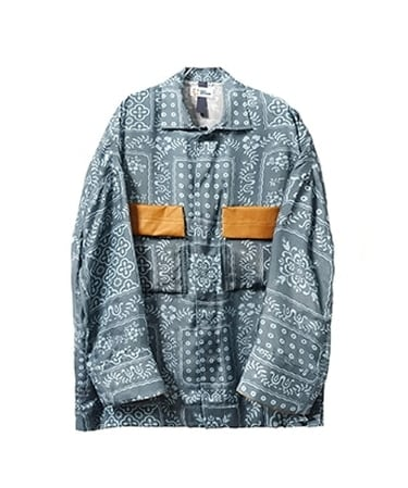 WORK SHIRT-ISH JACKET WITH RAYN SPOONER