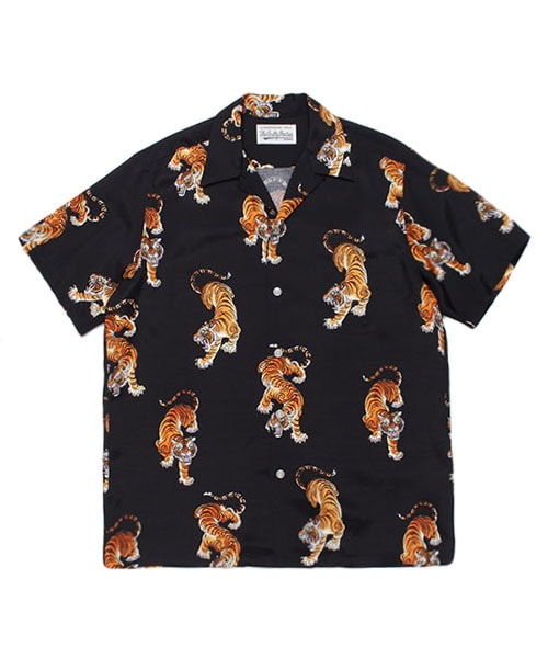 TIMLEHI/SS HAWAIIAN SHIRT(TYPE-4)
