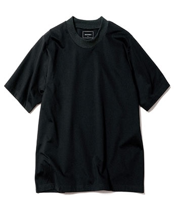 WIDE RIBBED TEE
