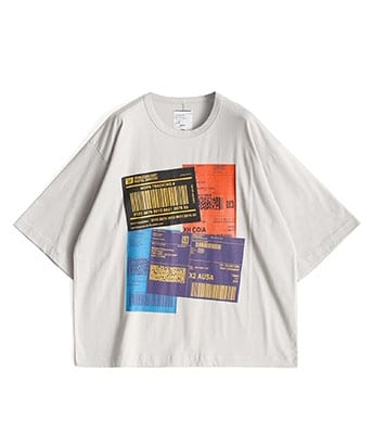COLOR LABEL S/S BIG-T
