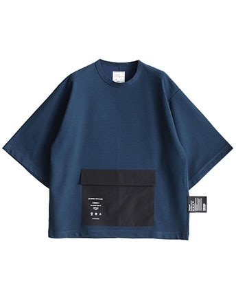 BLOCK JQ S/S POCKET T