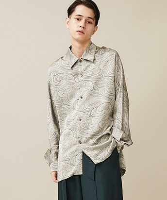 WAVE PATTERN SHIRT