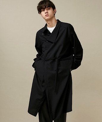 SHIFT COLLAR COAT SHIRT