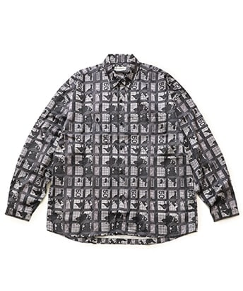 STIDIOUS限定WORLD HALL PE SHIRT