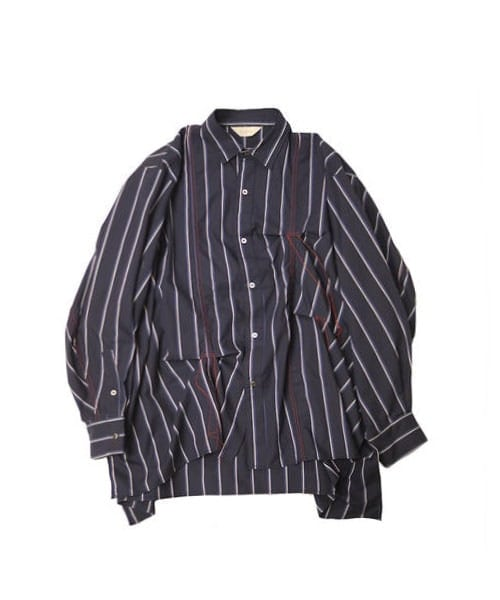 HAND STITCH STRIPE SHIRT