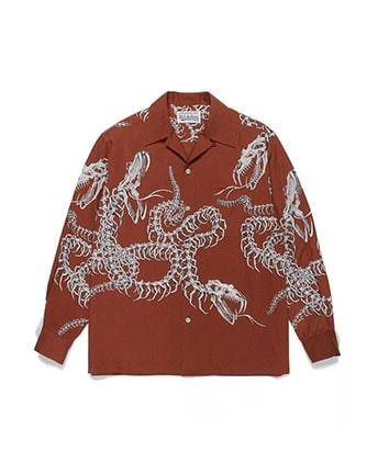 HAWAIIAN SHIRT L/S (TYPE-6)