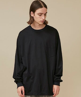 MERCERIZED COTTON L/S CS