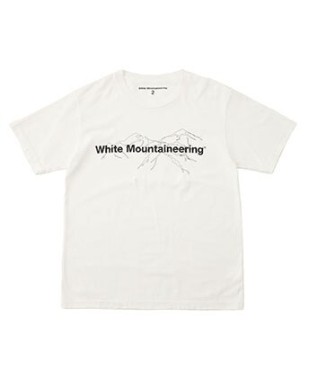 PRINTED T-SHIRT White Mountaineering