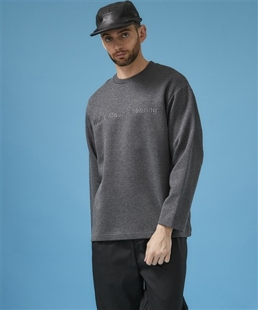 LOGO EMBROIDERIED SWEATSHIRT