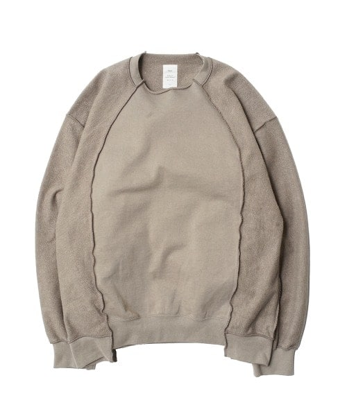 INSIDE OUT CREWNECK SWEATER